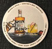 Koskue Gin -lasinalunen, 6 kpl