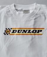 DUNLOP-t-paita, valkoinen