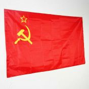 CCCP-lippu, 90 x 60 cm