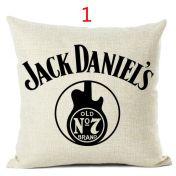Jack Daniels -tyynynpäälliset
