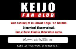 KEIJO Fan Club -jäsenkortti