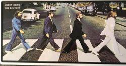 The Beatles -kilpi, 15 x 30 cm