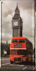 Big Ben -kilpi, 15 x 30 cm