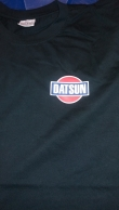 DATSUN -t-paita, musta