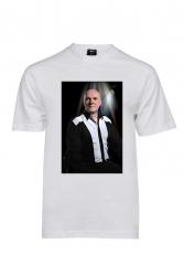 Jari Grek -t-paita Olen mukana tukemassa Jaria, valkoinen