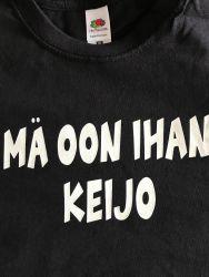 Mä oon ihan Keijo -t-paita