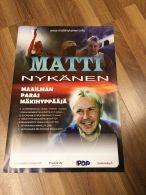 Matti Nykänen - Maailman paras mäkihyppääjä -juliste, 42 x 59 cm