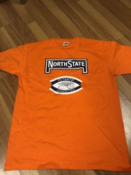 North State -t-paita, oranssi