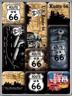 Route 66 Mother Road -jääkaappimagneettisetti