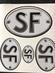 SF Retro -tarra-arkki