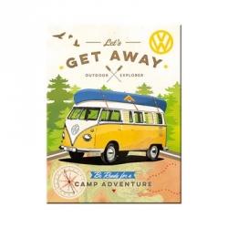 VW Get Away -jääkaappimagneetti