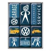 VW Service -jääkaappimagneettisetti